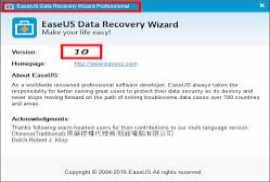 EaseUS Data Recovery Wizard Technician 10